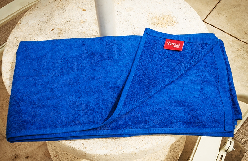 Toalla piscina Forest Azul Royal